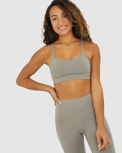 Momentum Sports Bra - Frost Grey