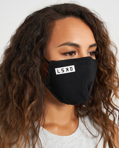 Cornerstone Face Mask - Black