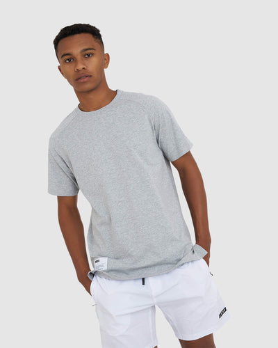 Optimal Tee - Lt Grey Marl