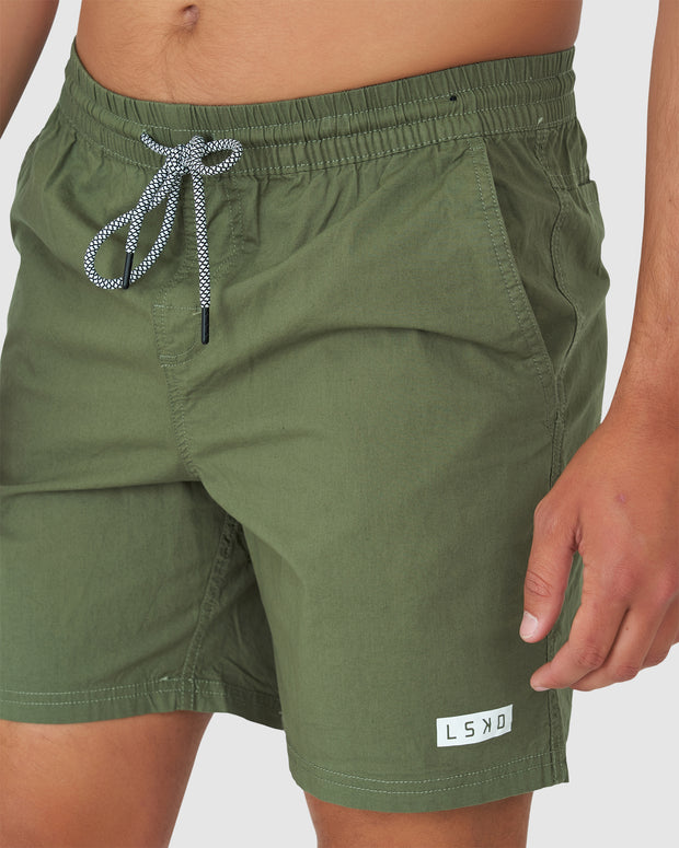 Daily Short - Olive