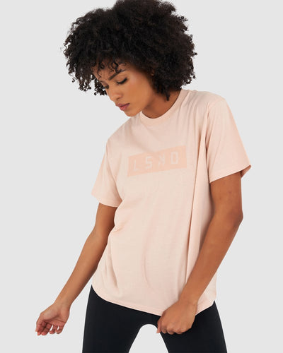 Mood Tee - Dusty Pink
