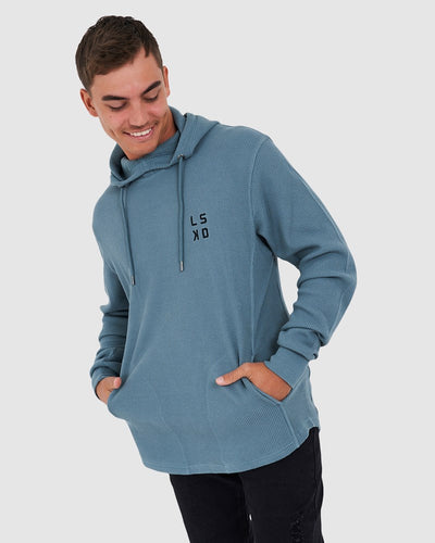 Canadian Waffle Pullover - Lead