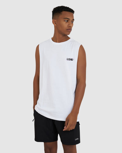 Correction Tank - White