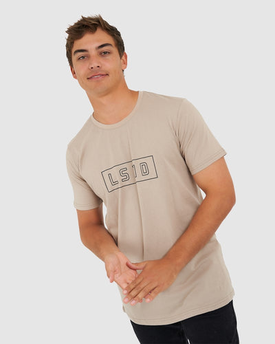 Outline Tee - Taupe