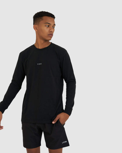 Base LS Tee - Black