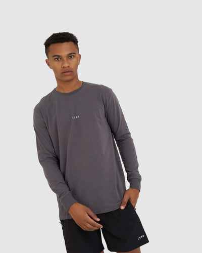 Base LS Tee - Shadow