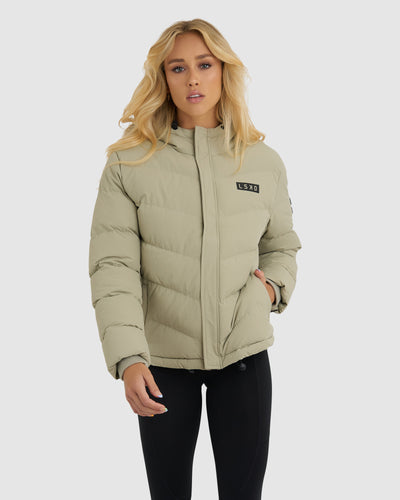 Roasted Puffer Jacket - Stone