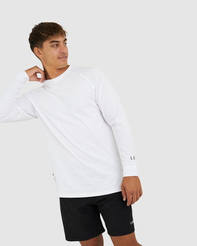 Optimal LS Tee - White