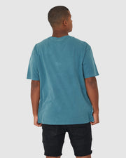 Cornerstone Tee Box Fit - Deep Teal