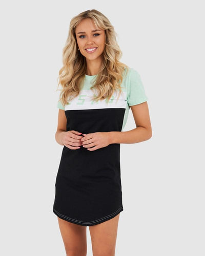 Dough Tee Dress - Neo Mint