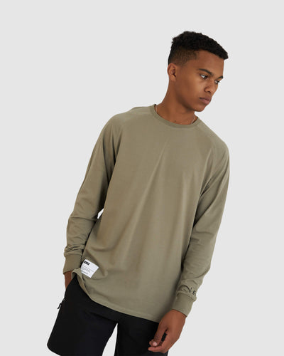 Optimal LS Tee - Dusty Olive