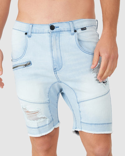 Torment Denim Short - Arctic Blue
