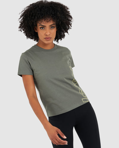 Upward Tee - Castor Grey