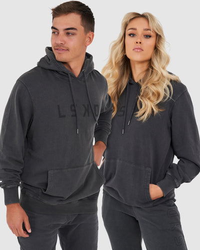 Unisex Structure Pullover - Pilled Pigment Charcoal