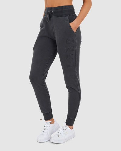 Unisex Tidy Trackpant - Pilled Pigment Charcoal - Preorder-2