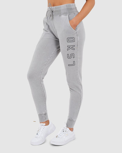 Unisex Tidy Trackpant - Pilled Pigment Pewter - Preorder-2