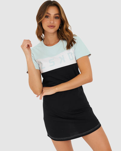Dough Tee Dress - Sky