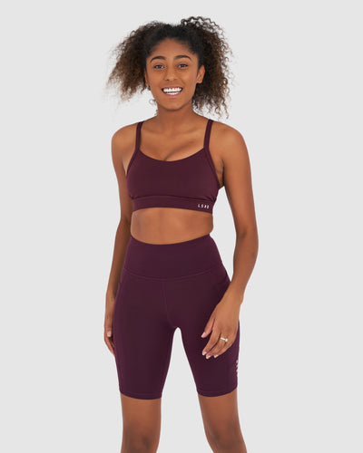Rep Short Tight - Wine
