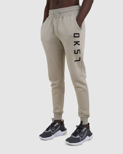 Structure Trackpant - Taupe