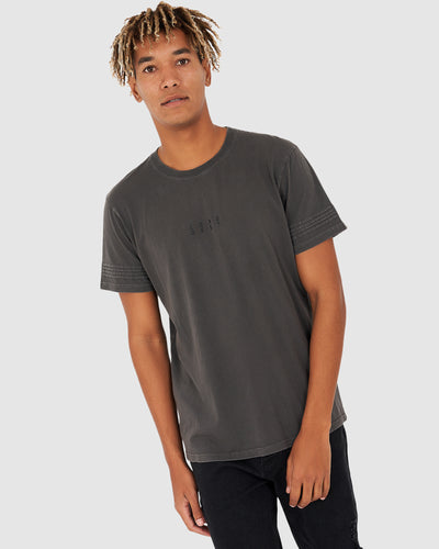 Lanes Tee - Pigment Charcoal