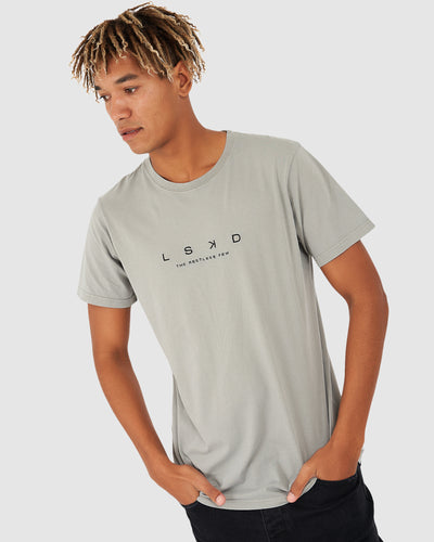 Spacer Tee - Pigment Pewter