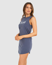 Structure Dress - Storm Blue