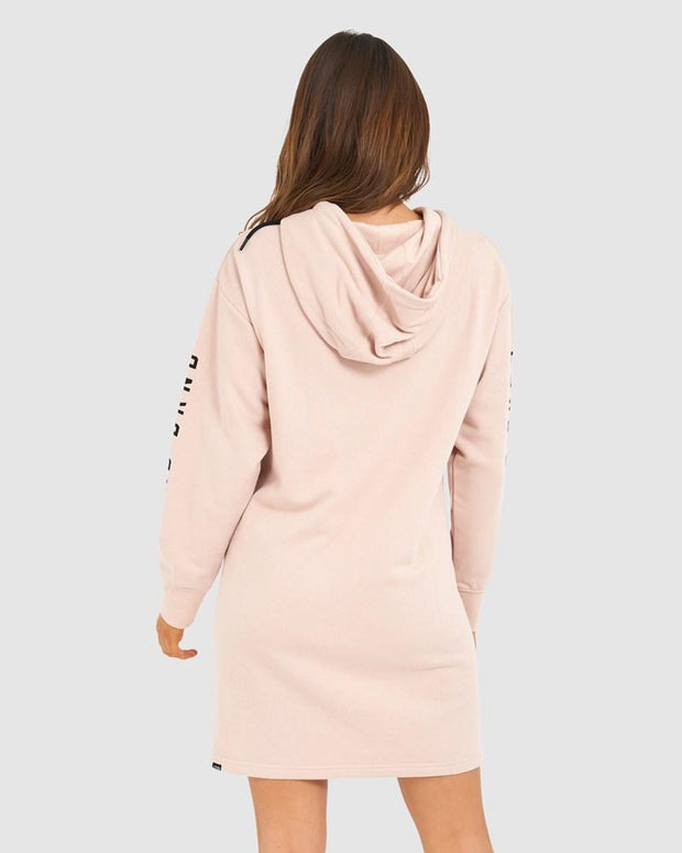 Perspective Pullover Dress - Dusty Pink