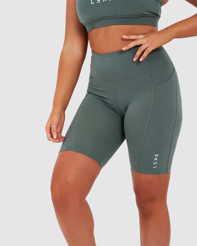 Rep Short Tight - Balsam Green