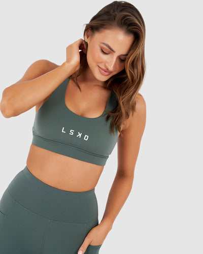 Rep Sports Bra - Balsam Green