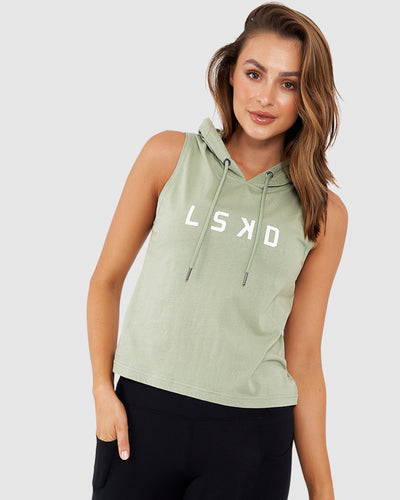Structure Hooded Tank - Sea Grass