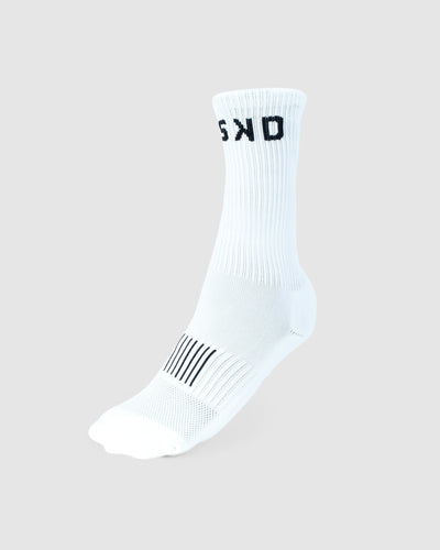 Rep Crew Sock - White