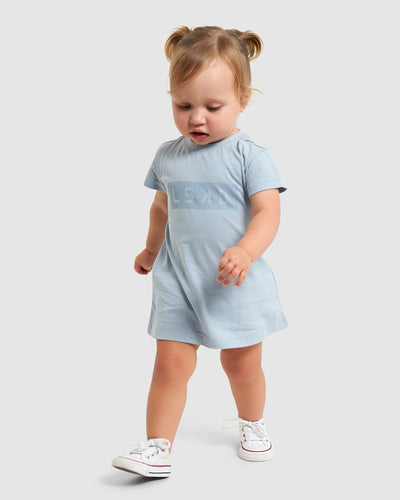 Mood Tee Dress (00-6) - Dusty Blue