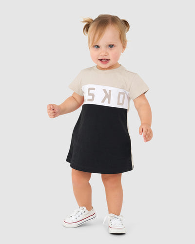Dough Tee Dress (00-6) - Pearl