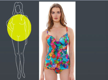 Swimsuits for Apple Body Shape
