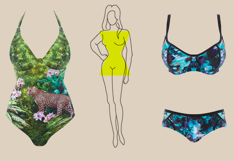 Swimsuits for an Hourglass Body Shape