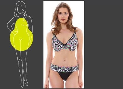 Swimsuits for a Pear Body Shape