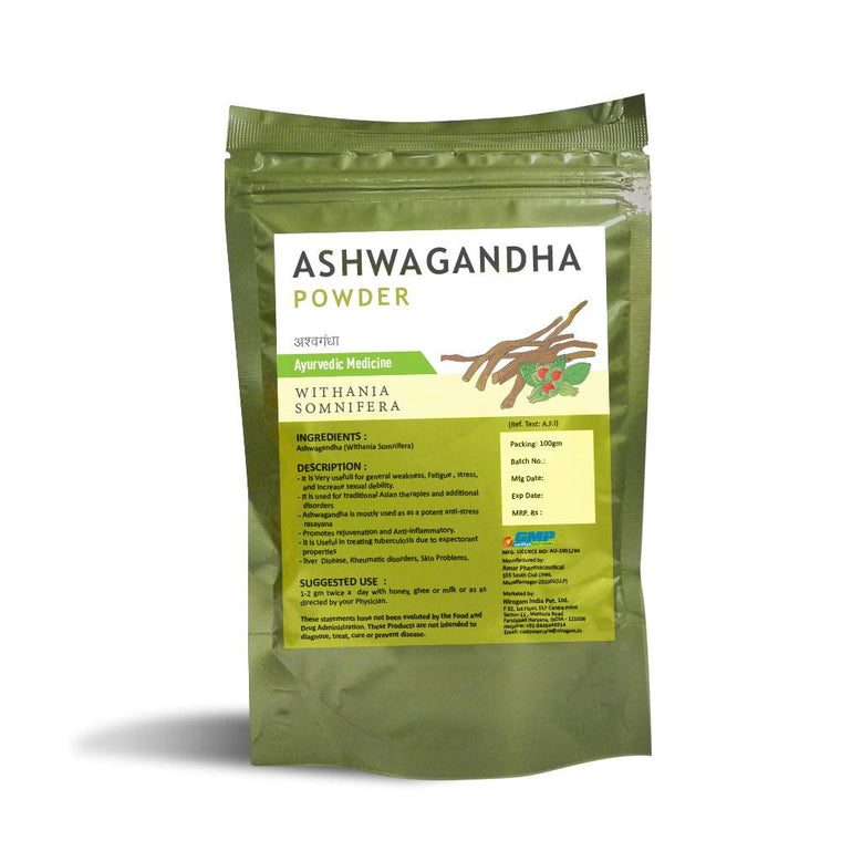 Ashwagandha Powder 100 Gms