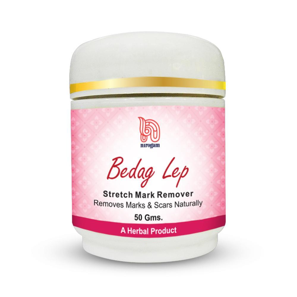 Bedag Lep Skin Care Cream for Stretch Marks and Hyperpigmentation - Nirogam