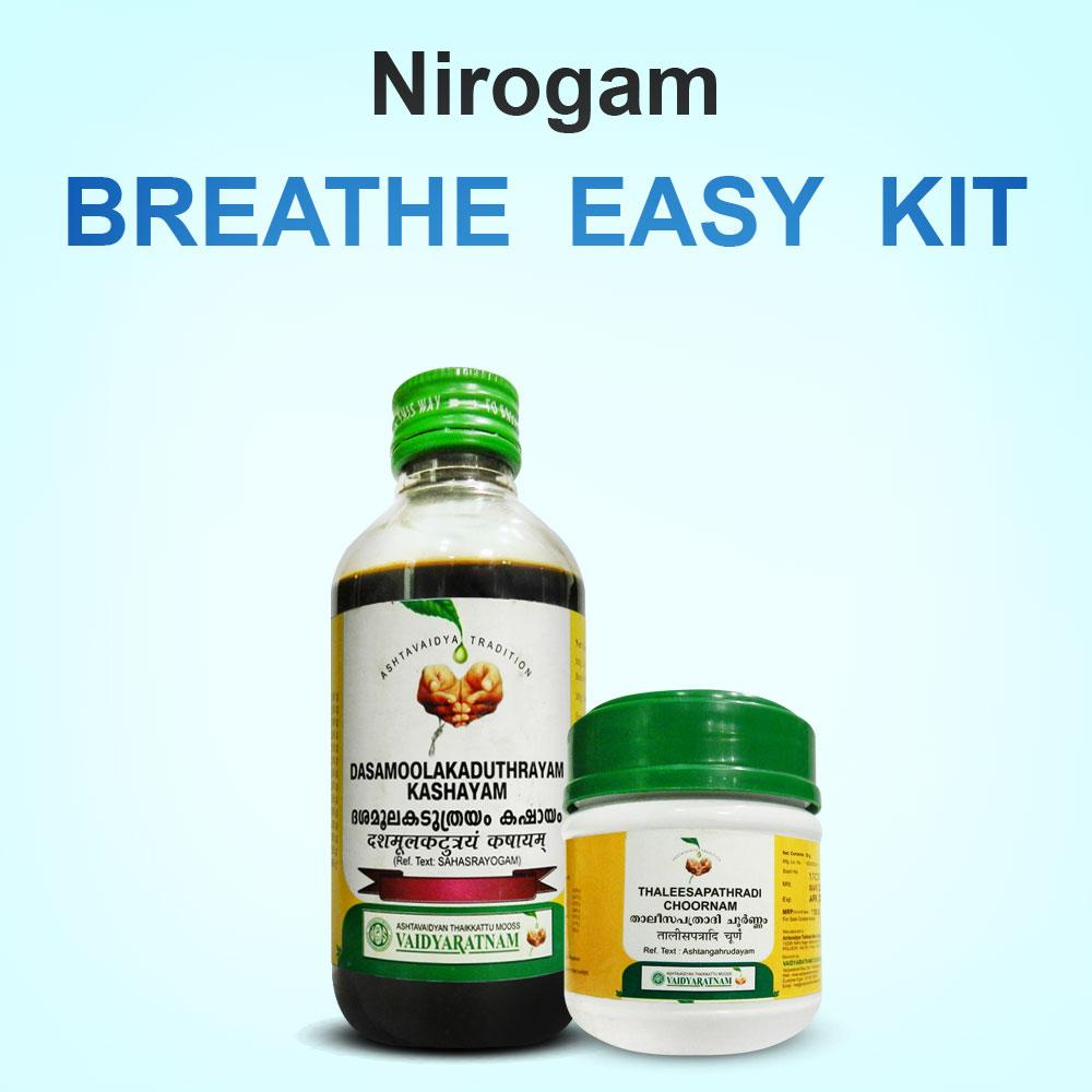 Nirogam's Breathe Easy kit - Nirogam