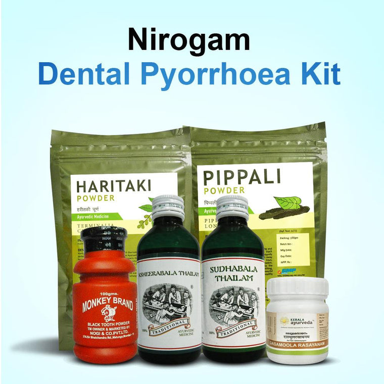 Nirogam Kit for Dental Pyorrhoea and Oral Submucous Fibrosis
