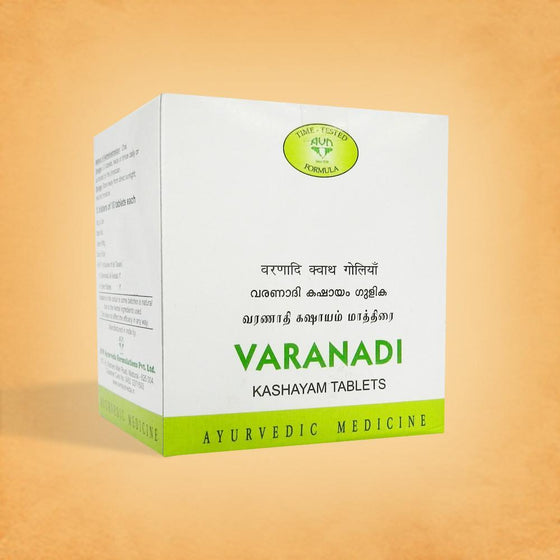 Varanadi Kashayam for Obesity, Eczema, Dermatitis - 100 Tablets