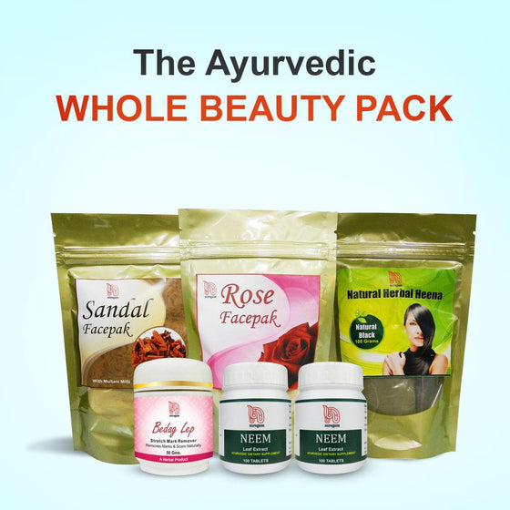 The Ayurvedic Whole Beauty Pack