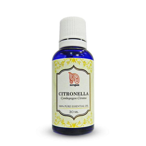Citronella Oil a Natural Mosquito Repellent against Dengue - 30 ml - Nirogam