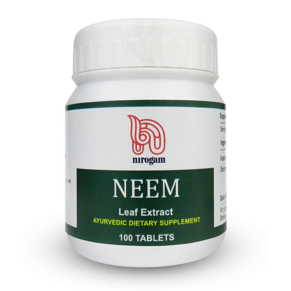 Neem 100 Tablets - Pack of 2