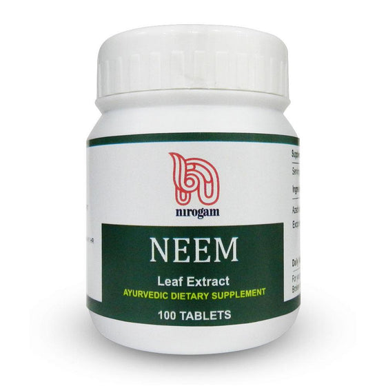Neem 100 Tablets - Pack of 2 - Nirogam