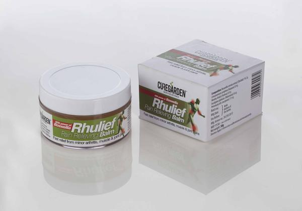 CureGarden Rhulief Balam for Joint Pain and Rheumatoid Relief - Nirogam