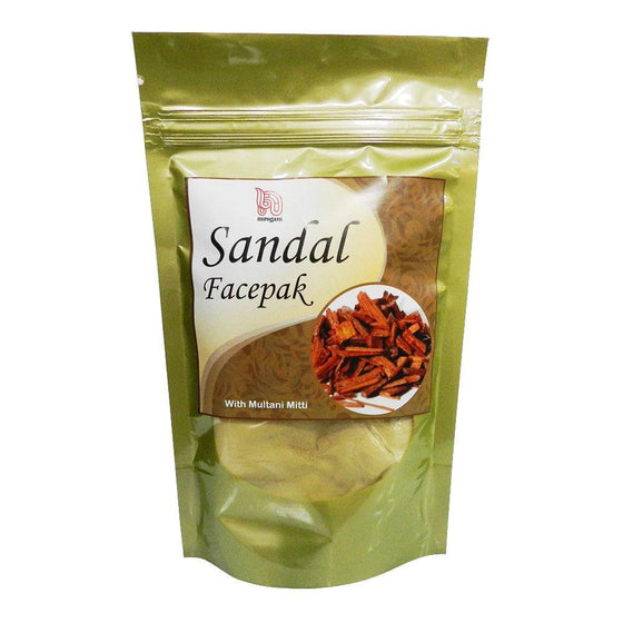 Sandalwood Multani Mitti Face Pack for Acne, Pimples, Scars, Pigmentation, Wrinkles and Discoloration - 200 gms