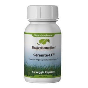 Serenite-LT for Insomnia, Anxiety and Sleep Apnea - 60 Capsules