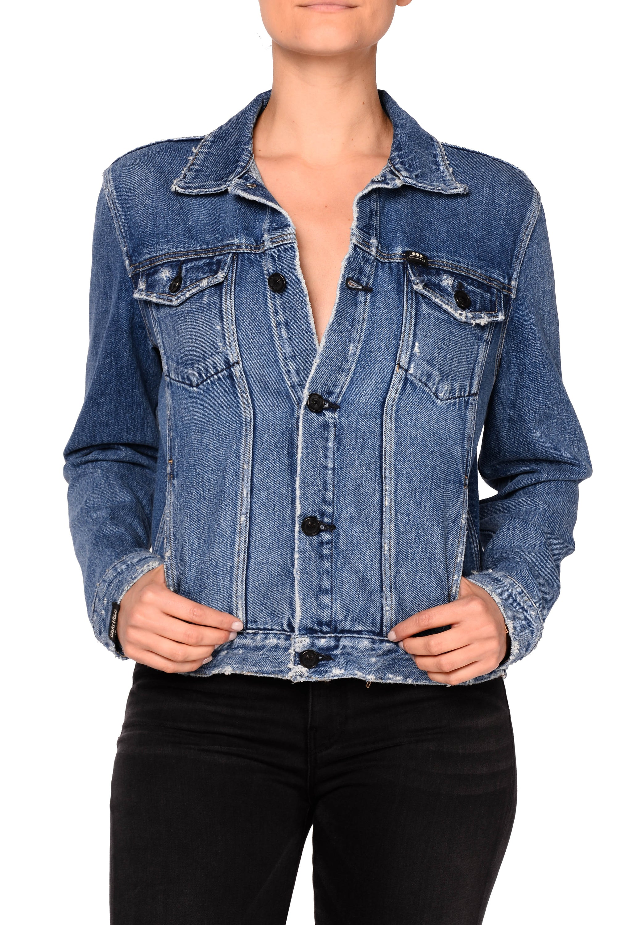 Axl Boyfriend Denim Jacket - Obsession