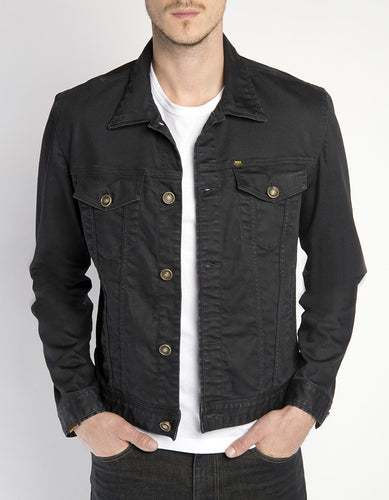 Oliver Denim Jacket - Onyx